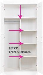 Interieurpakket Connect Geen Kast 3 Planken Woood
